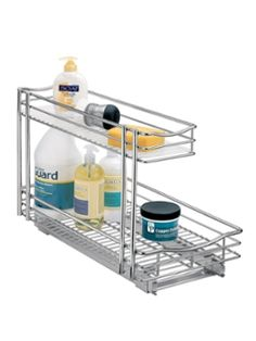Lynk best for chrome bath and kitchen in-cabinet storage