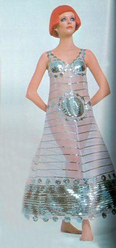 Courreges Vogue UK 1969