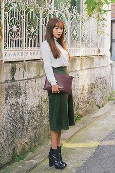 Today's Hot Pick :モダンカラーミモレ丈ワイドパンツ http://fashionstylep.com/SFSELFAA0026309/stylenandajp/out