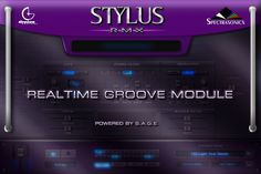 Spectrasonics - Products - Stylus RMX - Realtime Groove Module