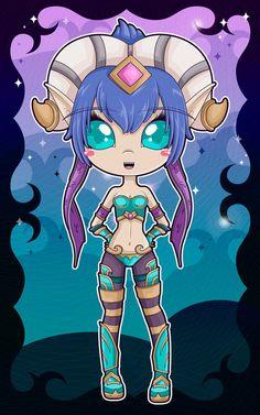 Tarecgosa Chibi - World of Warcraft by Aphoedia on DeviantArt