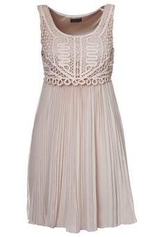 Vero Moda Lova Dress   Beige 40GBP.   Rehearsal dinner?