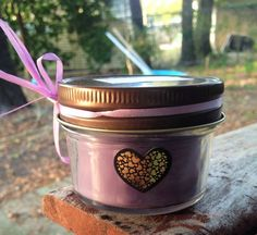 Handmade 4 oz soy blend candle. Scent pictured is Love Spell (type) #gifts #scents #handmade #candles #homemade