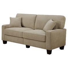 Serta Navarre Collection Sofa - Beige Fabric