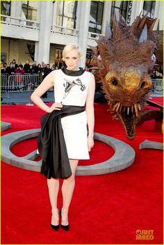 """Gwendoline Christie """"Brienne of Tarth""""  ~ Game of Thrones Premiere"""