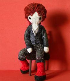 Ziggy Stardust Doll