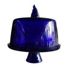 Dome Trapez and Cake Stand are friend forever (blue)