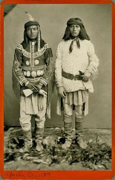 Apache men-1881  http://www.facebook.com/pages/Native-American-Indian-Old-Photos/10150102703945578