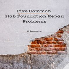 Understand the five most common slab foundation issues that cause trouble for…