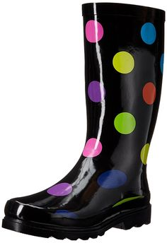 Sugar Women's RAFFLE Rain Boot * Click image for more details.