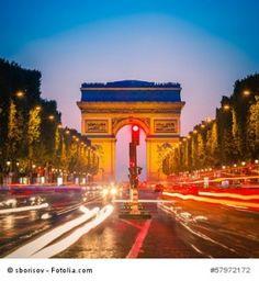 Nummer 57972172 suchen unter www.leinwand-druck.net/fotolia.htm? Arc de Triomphe, Paris