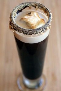 Smores Beer! Did you know you can make this right now?!?!?! What a great fall drink. You can also check out our smores page at dan330.com/smores