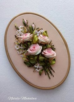 Wonderful Ribbon Embroidery Flowers by Hand Ideas. Enchanting Ribbon Embroidery Flowers by Hand Ideas. Ribbon Embroidery Tutorial, Floral Embroidery Patterns, Learn Embroidery, Silk Ribbon Embroidery, Hand Embroidery Designs, Embroidery Kits, Embroidery Supplies, Embroidery Stitches, Embroidery Saree