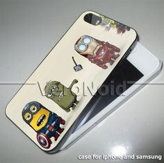 avenger minion vintage case for iphone 4iphone by VERONOID on Etsy, $14.50