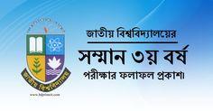 National university 3rd year result 2015 published in NU official website www.nu.edu.bd. Get your National university 3rd year result from here.