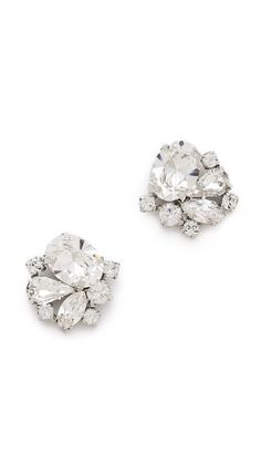 sparkle studs! love! I've experiments with dangle earrings now and i'm just more of a stud lover