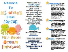 1000 ideas about teacher brochure on pinterest meet the for Meet the teacher brochure template