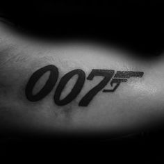 30 James Bond Tattoo Designs For Men - 007 Ink Ideas Doodle Tattoo, I Tattoo, Tattoo Quotes, James Bond, Symbol Tattoos, Tatoos, Bond Girls, Tattoo Designs Men, Body Art