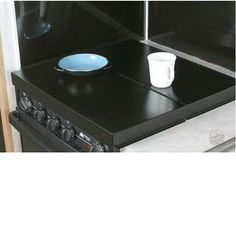 $54.99 Universal Stove Top Cover - Black - Camco RV 43554 - Counter  Stove Tops - Camping World