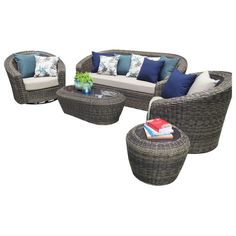 Found it at Joss & Main - 5-Piece Liesel Patio Seating Group