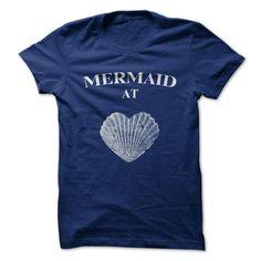 (Top 10 Tshirt) Mermaid at Heart [Tshirt Facebook] Hoodies