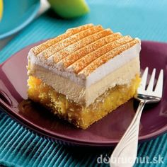 Jablkový krémeš Slovak Recipes, Czech Recipes, Russian Recipes, Mexican Food Recipes, Czech Desserts, 3d Cakes, Amazing Cakes, Baked Goods, Sweet Tooth
