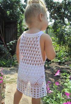 Tina's handicraft : white girls dress