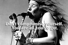 "Janis Lyn Joplin was an American rock singer in the 1960s whose voice propelled her to the pinnacle of stardom in her 20s...she was found dead in her hotel room, apparently of a drug overdose, on October 4, 1970. She was 27. In 2005 the Grammies gave her a ""Lifetime Achievement Award""..."