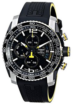 Tissot Men's T0794272705701 PRS 516 Analog Display Swiss Automatic Black Watch >>> You can find out more details at the link of the image.