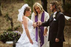 Colorado Mountain Wedding Photos | Sarah + Milo - Carrie Swails Wiccan Wedding, Handfasting, Carrie, Carry On, Wedding Ceremony, Colorado, Wedding Photos, Wedding Inspiration, Flower Girl Dresses