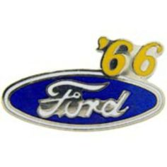 "Ford '66 Logo Pin 1"" by FindingKing. $8.99. This is a new Ford '66 Logo Pin 1"""