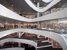 University of Aberdeen New Library | schmidt hammer lassen architects | Archinect
