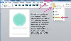 Tutorial 9 Como insertar una imagen en word y hacer el fondo blanco transparente