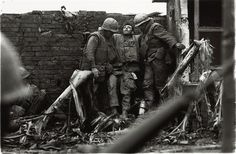 DON McCULLIN  US Marine wounded in the legs, the Citadel, Tet Offensive, Hué, South Vietnam, February 1968