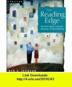 The Reading Edge Thirteen Ways to Build Reading Comprehension (9780618042685) Ben Johnson , ISBN-10: 0618042687  , ISBN-13: 978-0618042685 ,  , tutorials , pdf , ebook , torrent , downloads , rapidshare , filesonic , hotfile , megaupload , fileserve