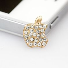 Guardian White Apple Shape Iphone Home Alloy Mobile phone products,Priced At Only US  $0.95