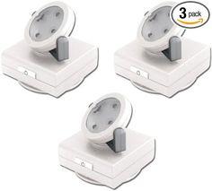 Rite Lite LPL743W 4 LED Pivot and Swivel Light, White, 3 Pack,