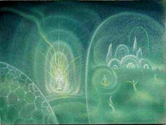 Boris Smirnov-Rusetsky.  Green imagination.