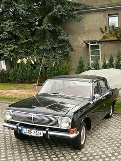 Russian Gaz Wolga M24 Saloon Car