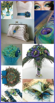 Peacock décor is bright, original and it looks very well with many colors and themes. There are many ways to integrate the peacock theme into the wedding décor. It's not necessary to use peacock fe… Beach Theme Wedding Invitations, Wedding Themes, Wedding Decorations, Wedding Photos, Shower Invitations, Perfect Wedding, Our Wedding, Dream Wedding, Trendy Wedding