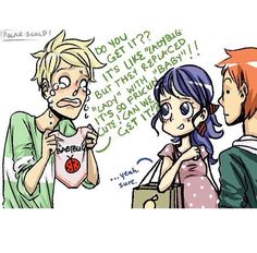 Oh my strawberries ADRIEN YOU PRECIOUS CINNAMON ROLL