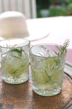 Dill aquavit and cucumber cocktail - Kivistössä foodblog www.kivistossa.com