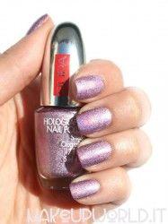 Pupa 036 Holographic Lilac #makeup #trucco #smalto #nail #nails #nailart #nailpolish #review #beauty #beautyblogger #nailmania
