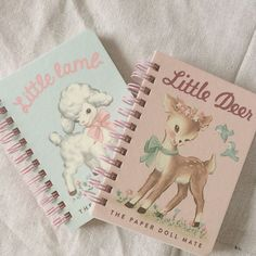 Little Lamb and Little Deer paper dolls. This is my aesthetic right here. Angel Aesthetic, Aesthetic Vintage, Pink Aesthetic, Princess Aesthetic, Cute Stationery, Stationary, Little Doll, Creepy Cute, Softies
