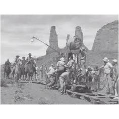 John Ford shooting in Monument Valley
