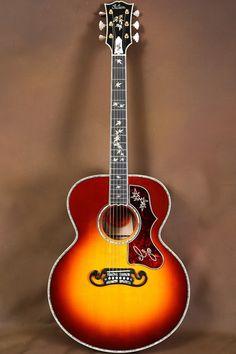 2015 Gibson SJ 200 Autumn Gallery Custom Acoustic Guitar J 200 711106103143…