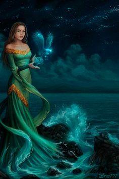Ocean waving...Animated...Gif...gif femmes animees