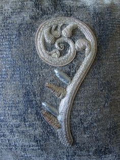 Embroidery Services, Goldwork, Surrey, Bespoke, Hand Embroidery, Needlework, Seasons, Unique, Taylormade