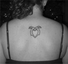 peta bunny charm tattoo