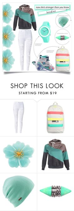 """""""Comfortable and Cute"""" by alysham27 ❤ liked on Polyvore featuring WithChic, adidas, Carolee, White Label, Coal, Givenchy and Rip Curl"""